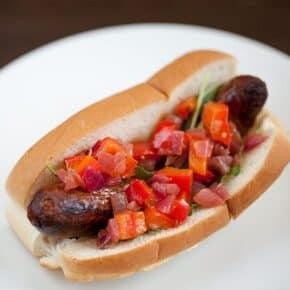 Chorizo Hot Dogs