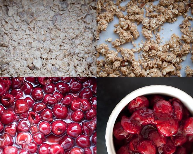 Sour Cherry Crumble