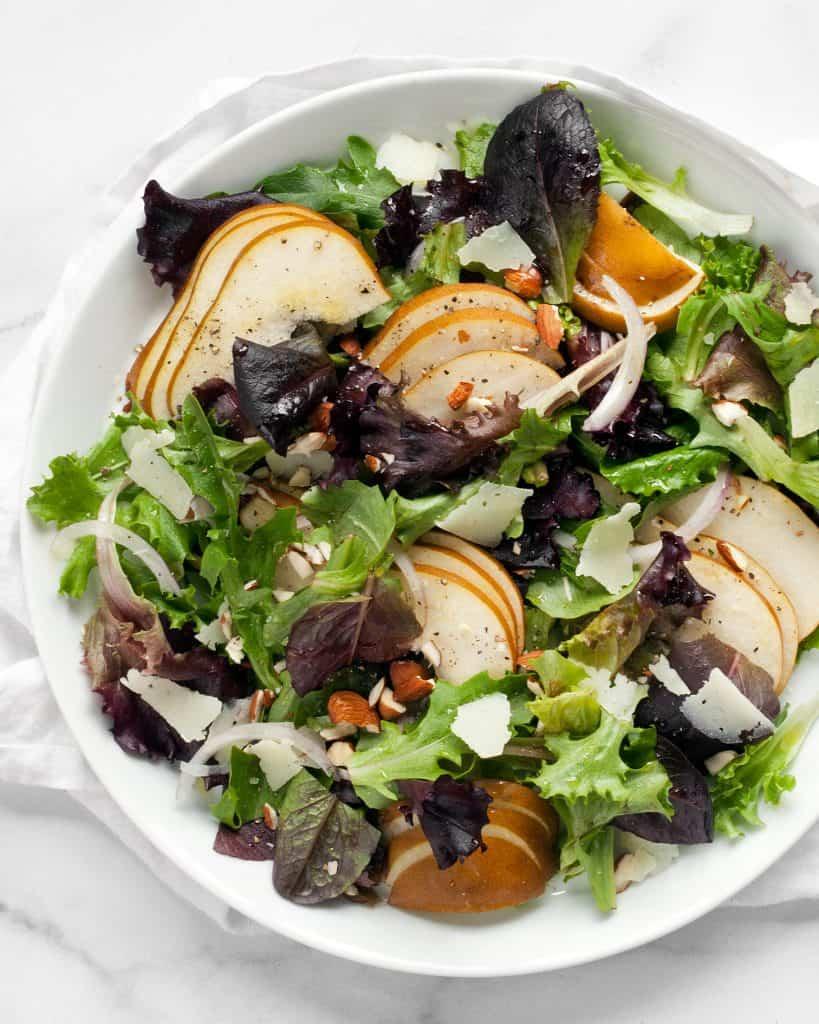 Pear Manchego Salad