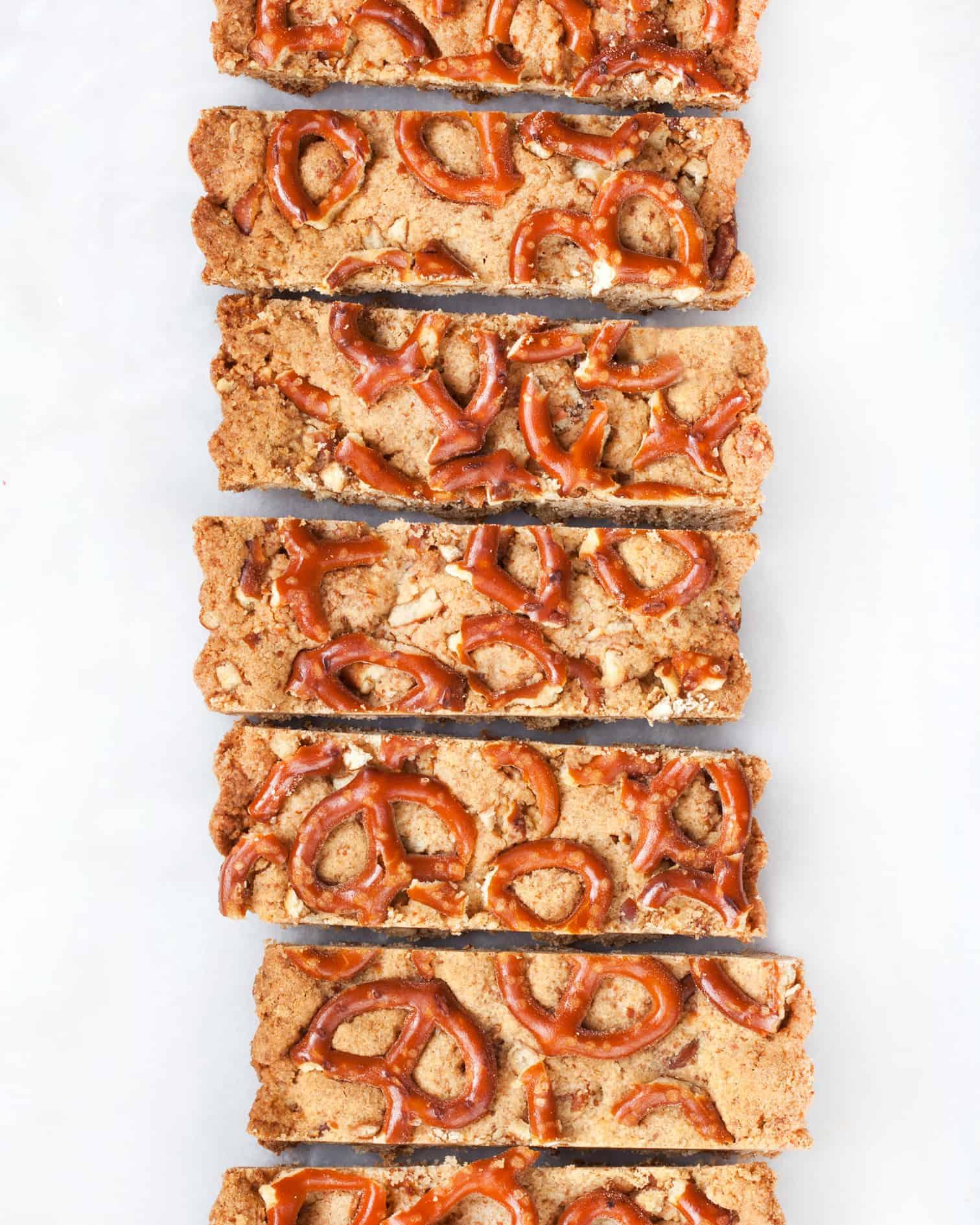 Pretzel Shortbread Bars