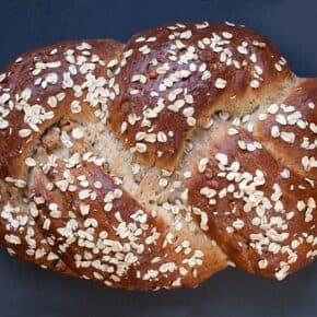 Oatmeal Walnut Bread