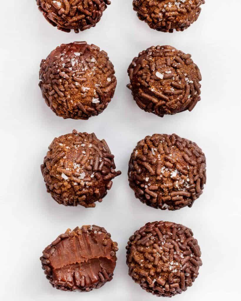 Chili Chocolate Truffles