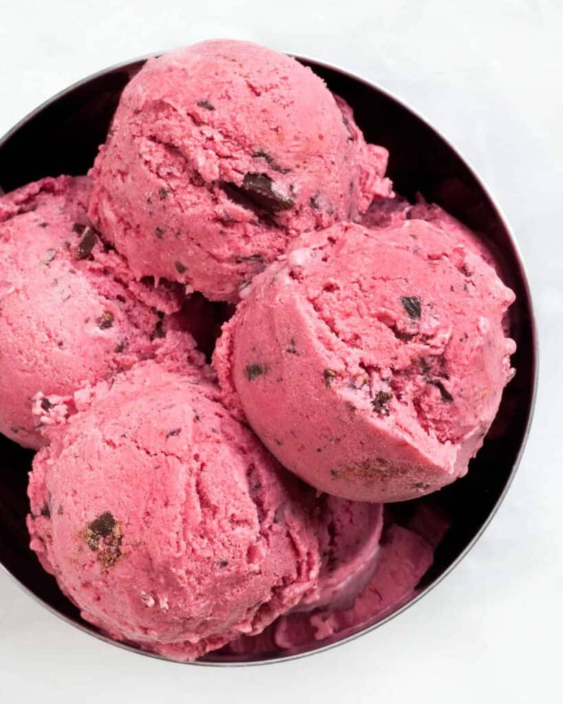 Black Raspberry Chip Ice Cream