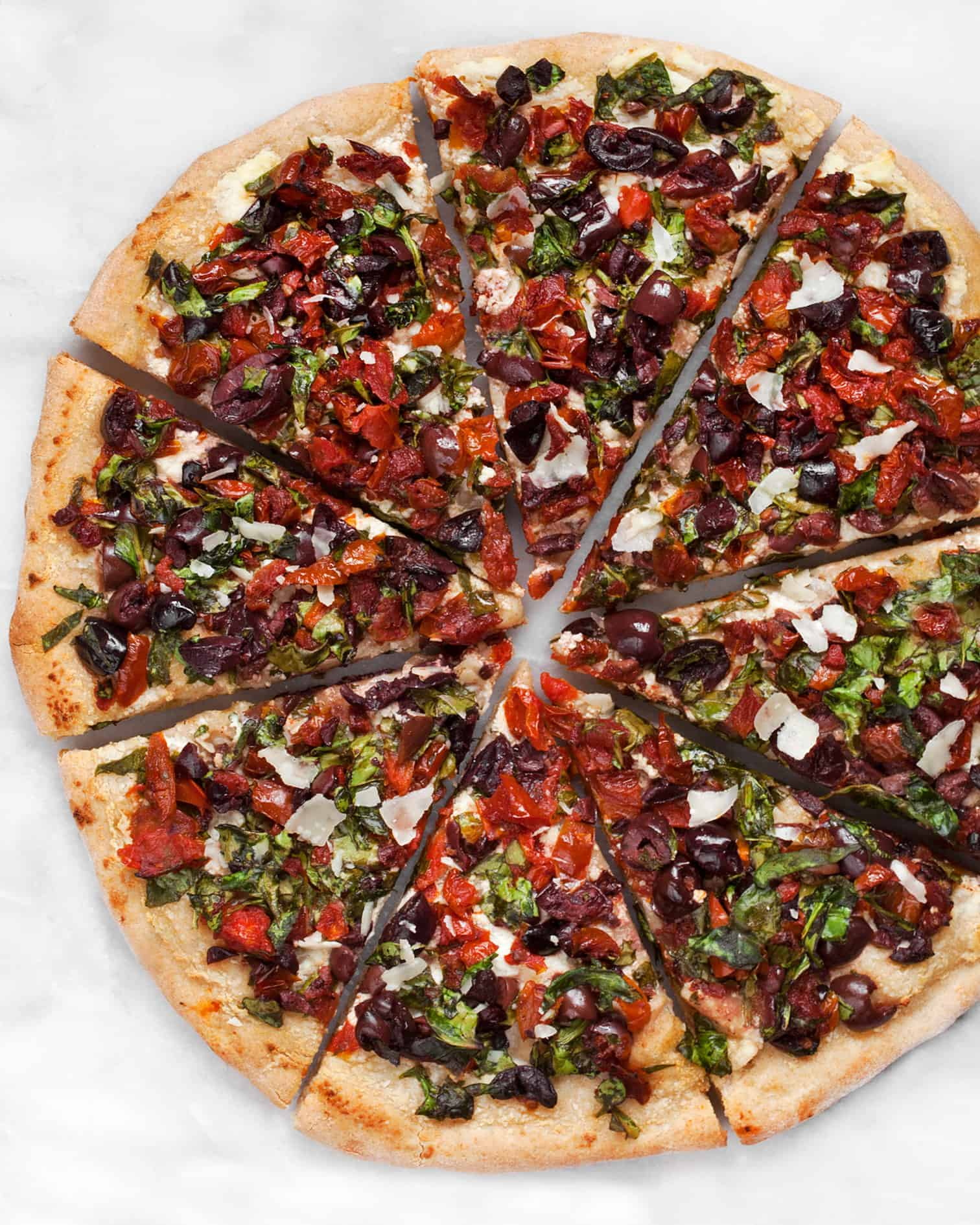 Fire Roasted Tomato Pizza