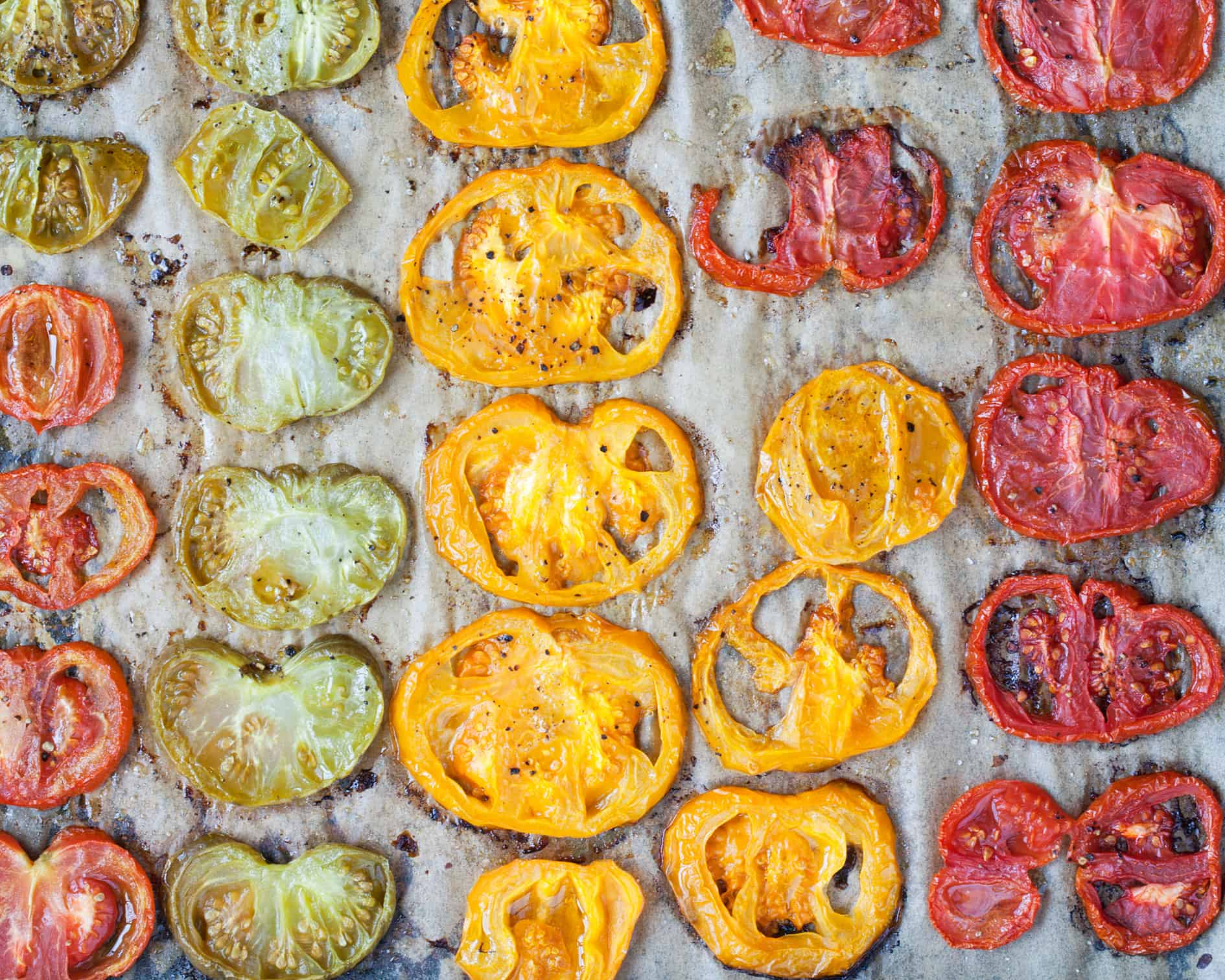 Tomato Pesto Tartine