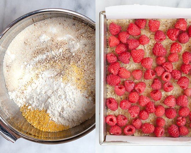 Raspberry Crumble Bars