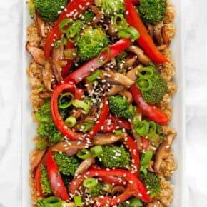 Quinoa Veggie Stir-Fry