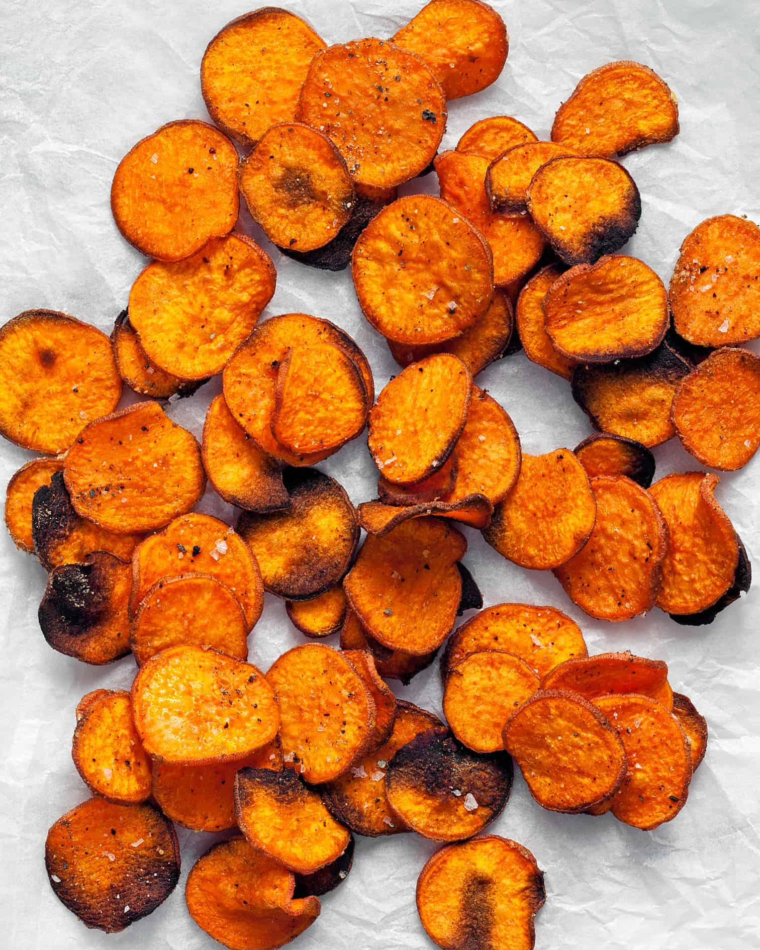Baked Sweet Potato Chips With Paprika And Cumin Last Ingredient