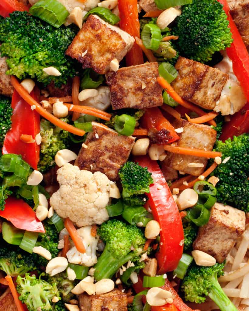 Mixed Veggie Tofu Stir-Fry