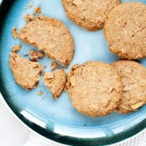 Vegan Almond Shortbread