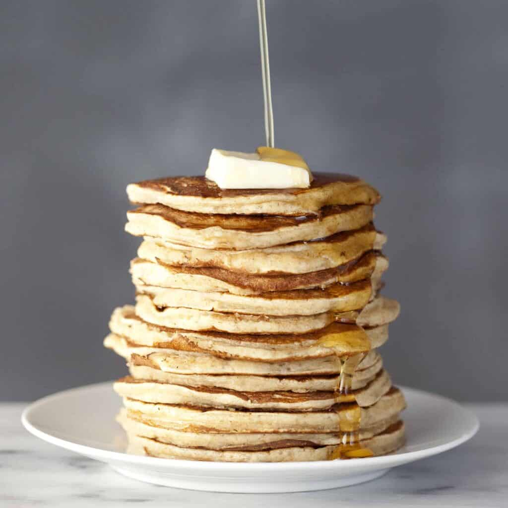 Whole-Wheat Buttermilk Pancakes