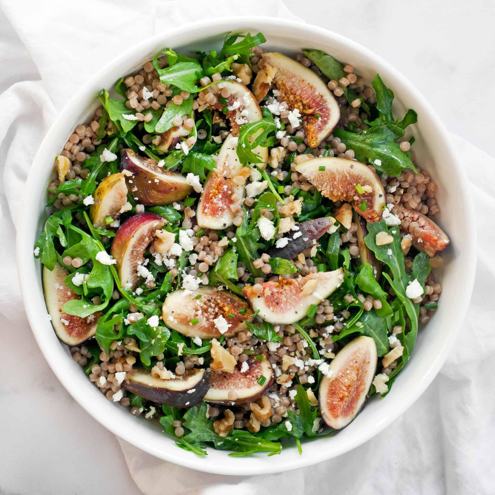 Fig Couscous Salad