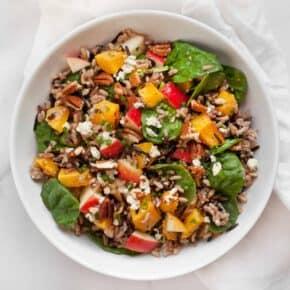 Pumpkin Wild Rice Salad