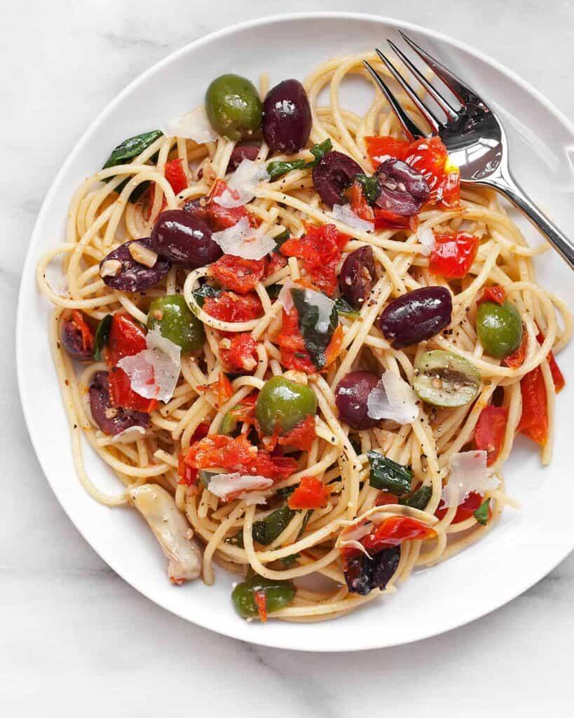 Antipasto Spaghetti