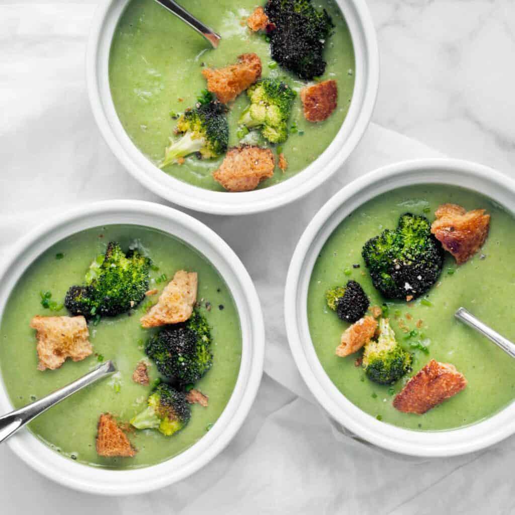 Broccoli Spinach Soup