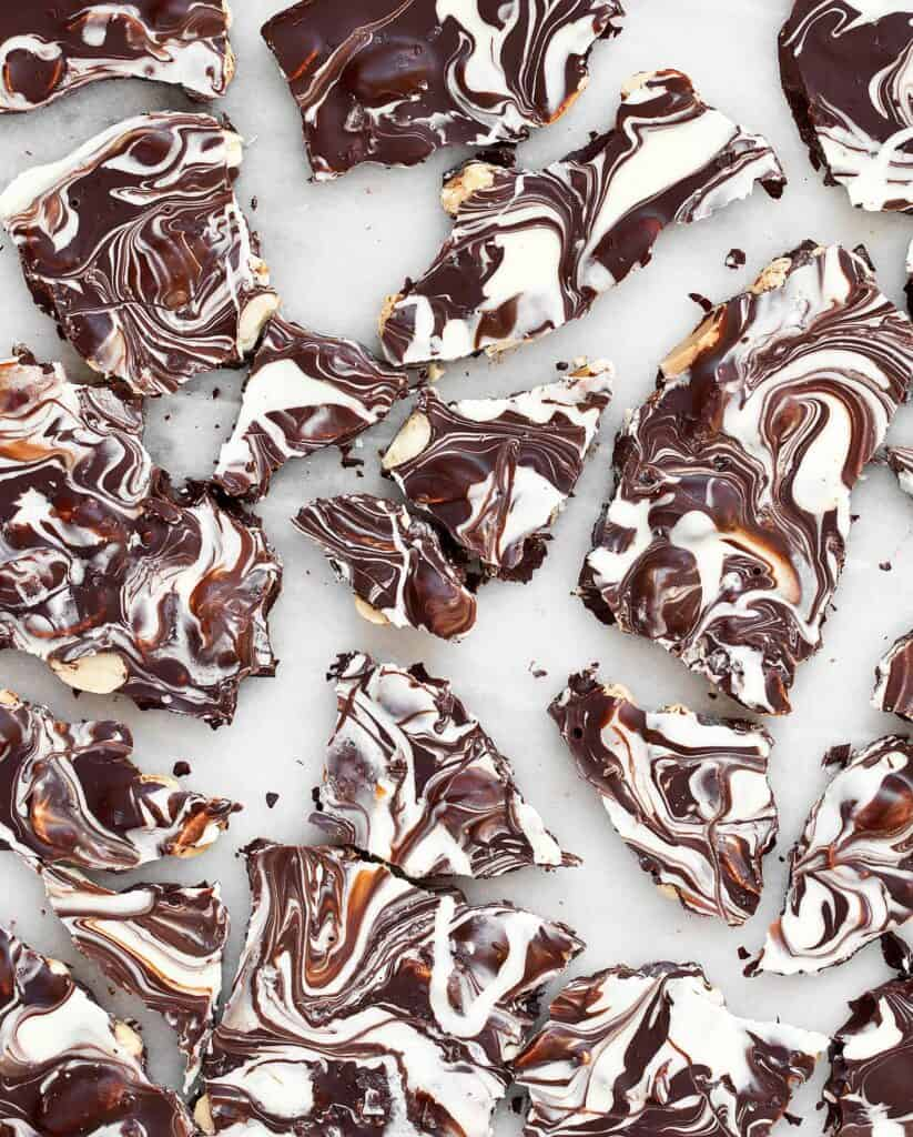 Marbled Chocolate Bark