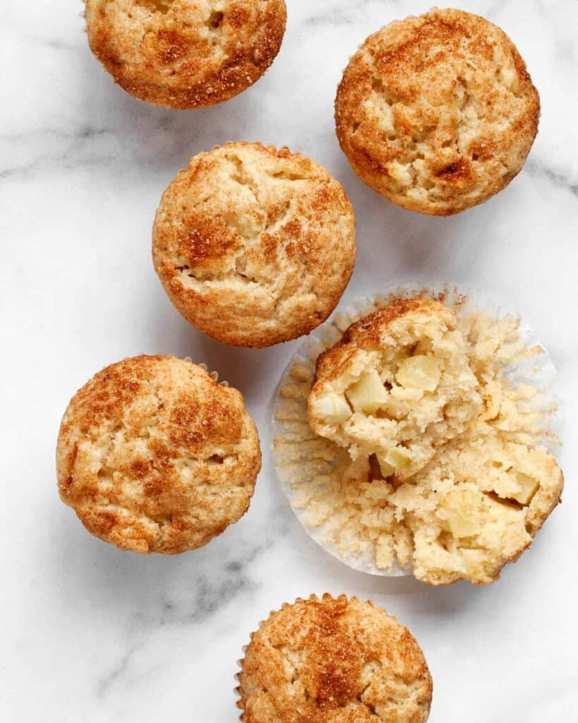 Vegan Apple Cinnamon Muffins
