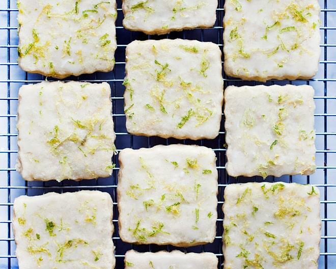 Lemon Lime Shortbread