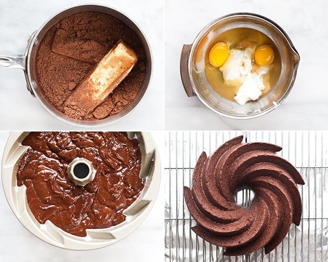 Bittersweet Chocolate Stout Bundt Cake