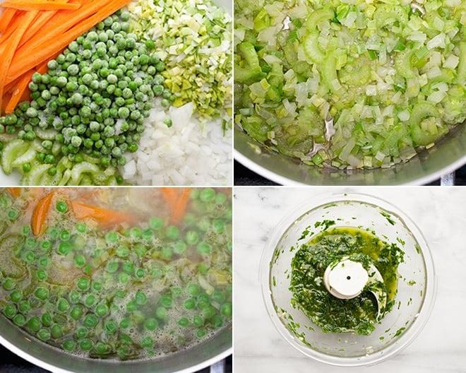 Green Minestrone Soup