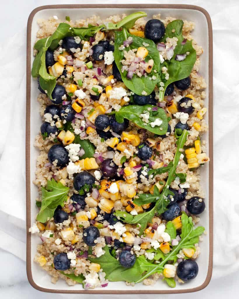 Blueberry Corn Salad