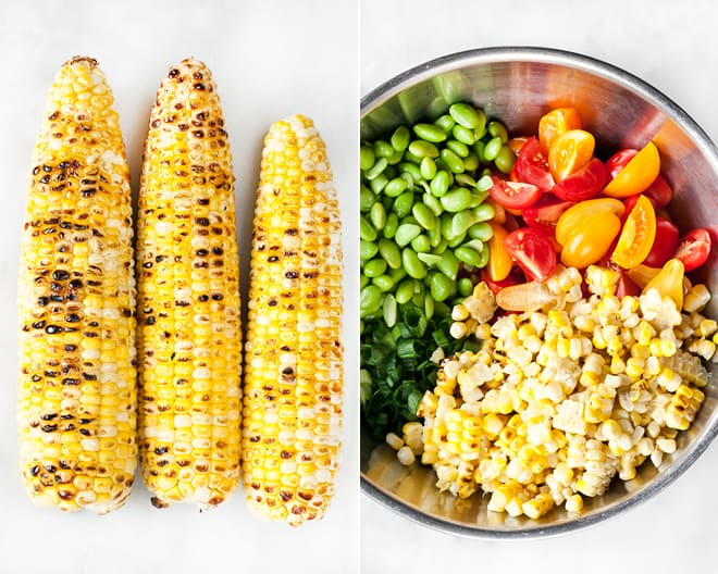 Corn Edamame Succotash