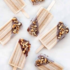 Peanut Butter Popsicles