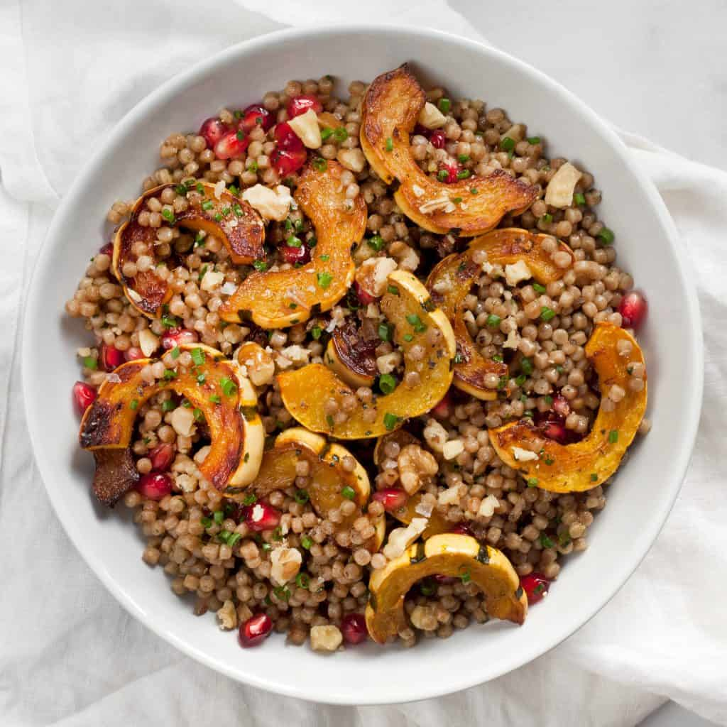 Roasted Delicata Squash Couscous