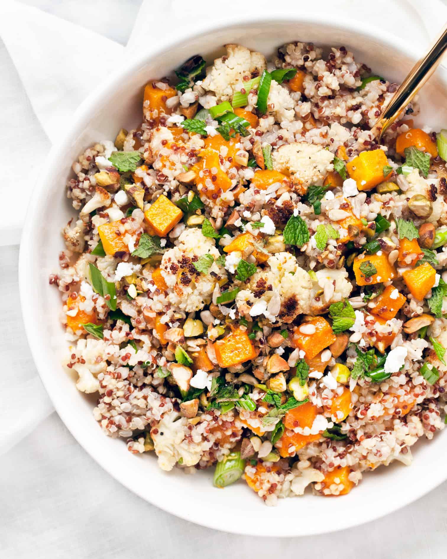 Butternut Squash & Cauliflower Quinoa