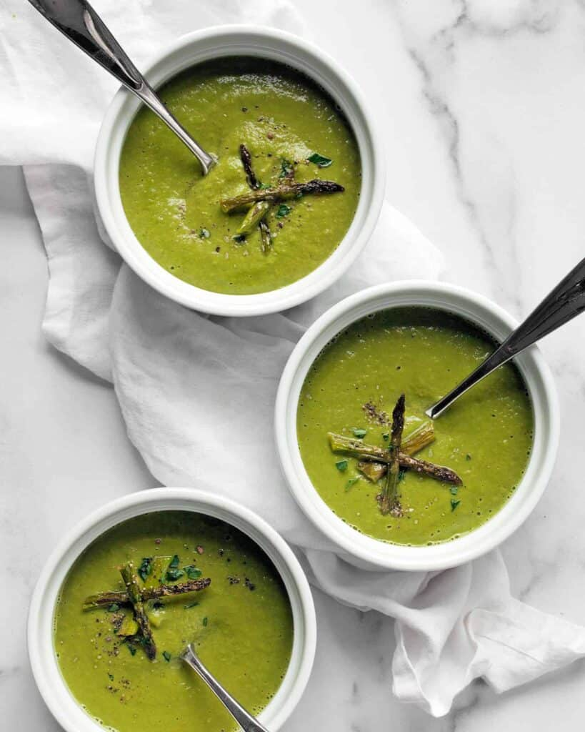 Asparagus Pea Soup