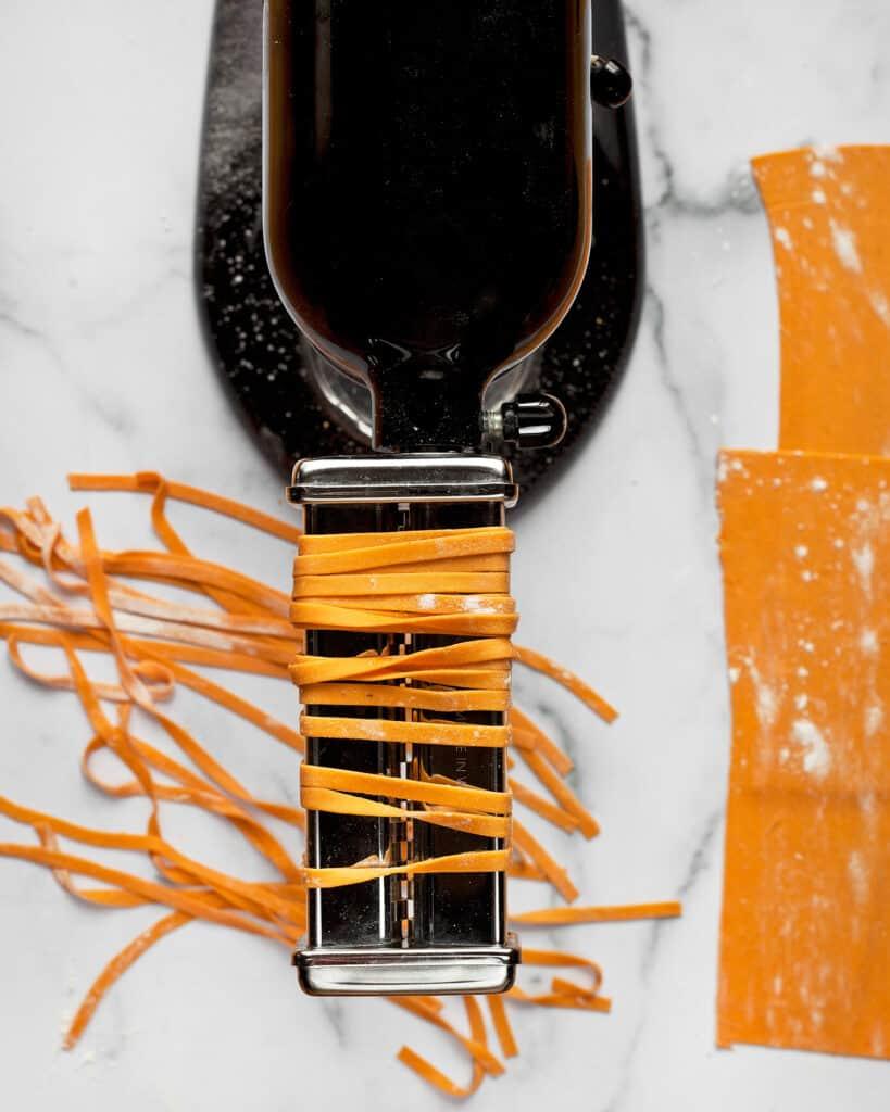 Fresh Carrot Pasta
