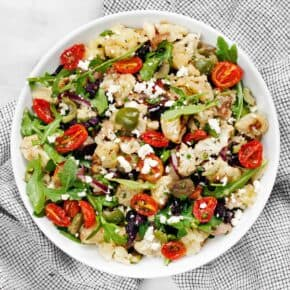Roasted Cauliflower Potato Salad