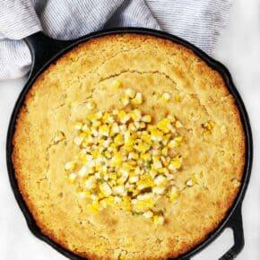 Grilled Corn Cornbread