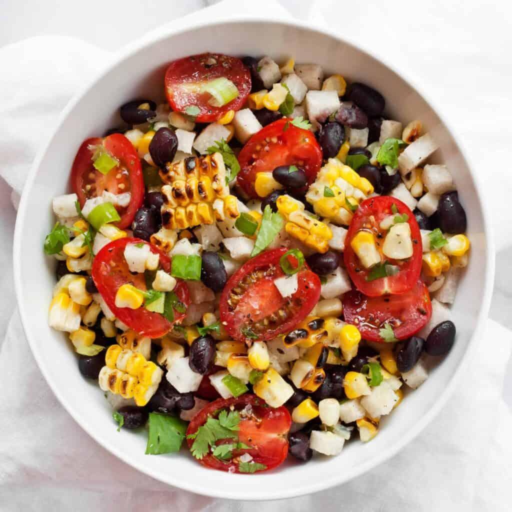 Jicama Black Bean Salad