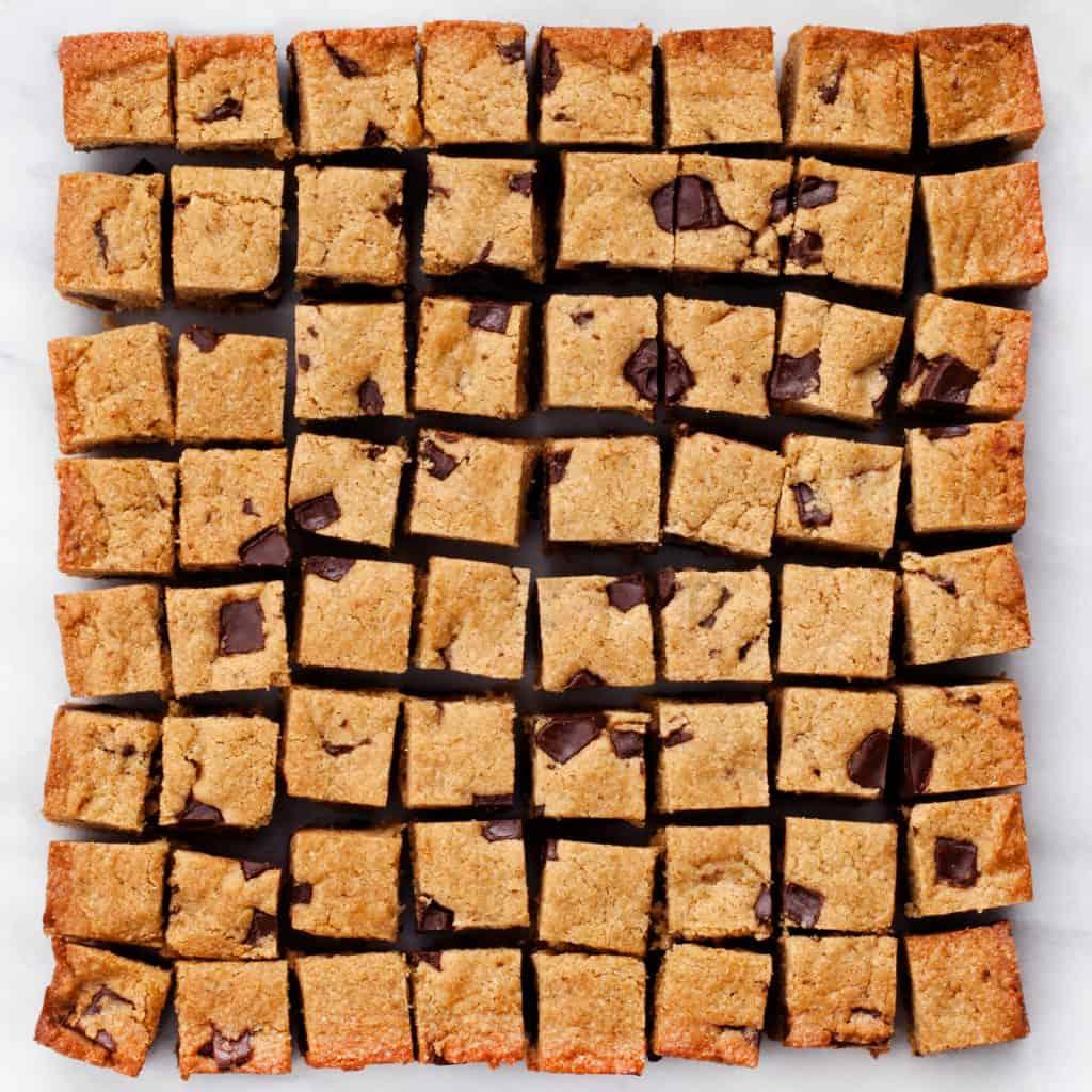 Peanut Butter Quinoa Blondies