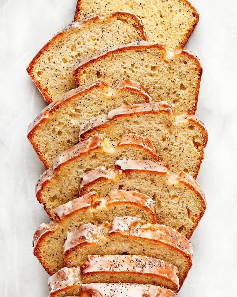 Grapefruit Poppy Seed Loaf Cake