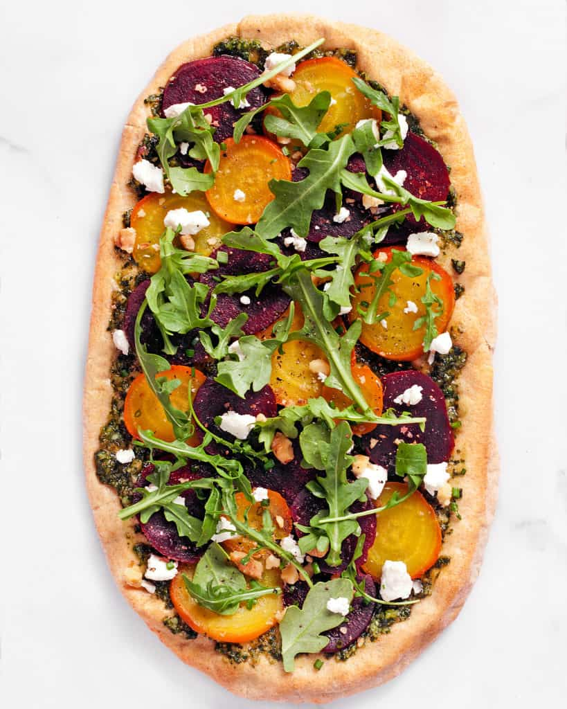Roasted Beet Flatbread