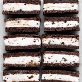 Brownie Ice Cream Sandwiches1