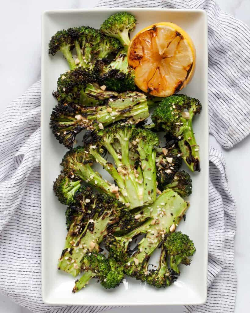 Grilled Dukkah Broccoli
