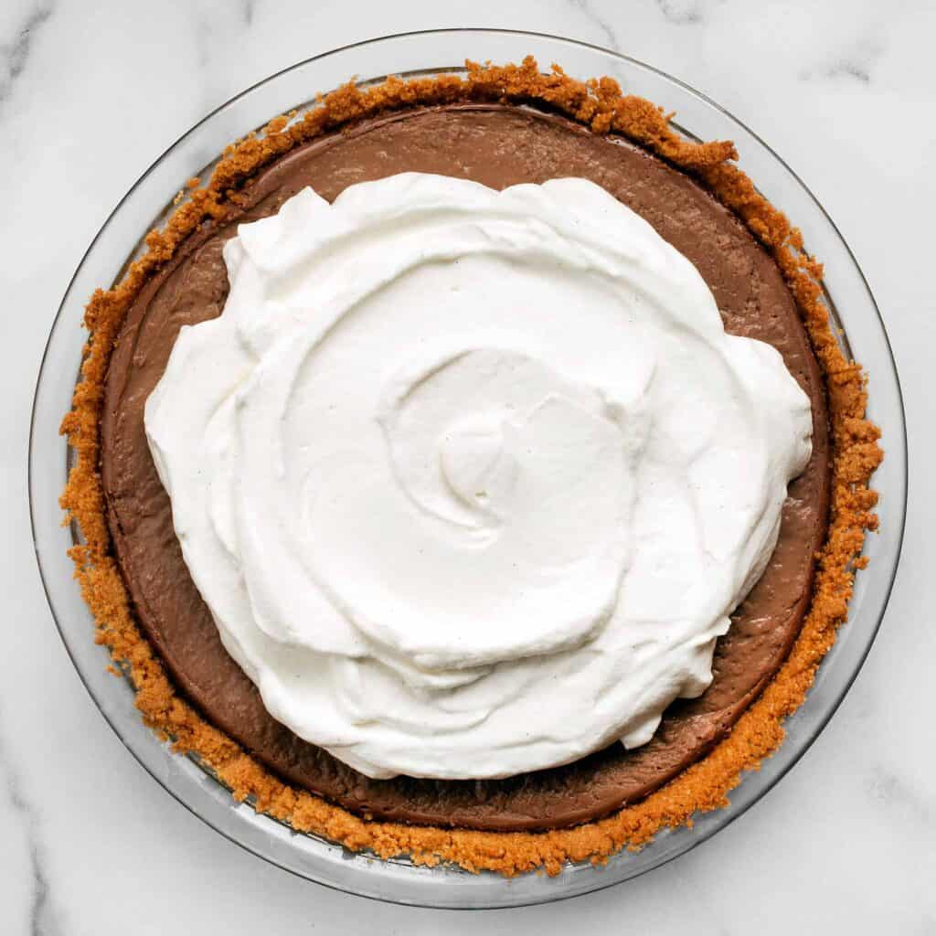 Milk Chocolate Peanut Butter Pudding Pie