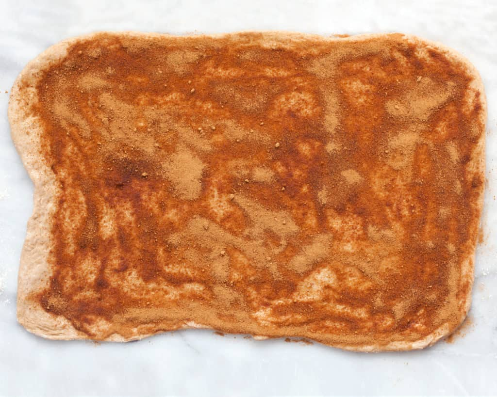 Vegan Pizza Dough Cinnamon Rolls