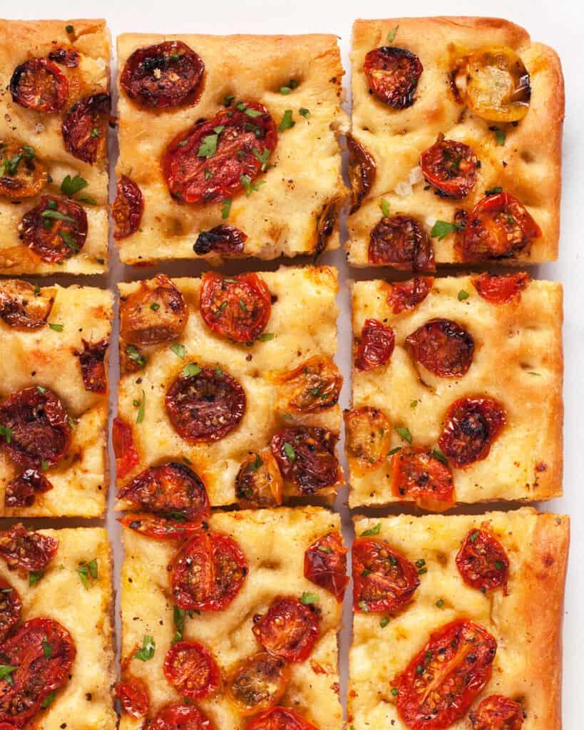 Roasted Tomato Focaccia