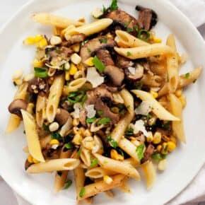 Mushroom Corn Penne