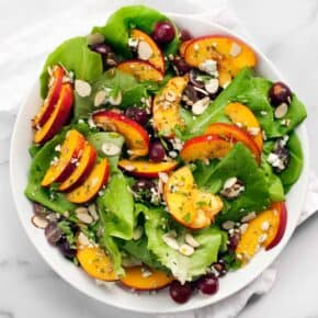 Nectarine Grape Salad