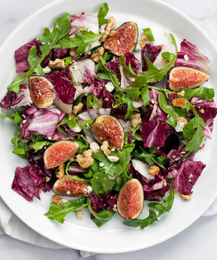 Fig Radicchio Salad