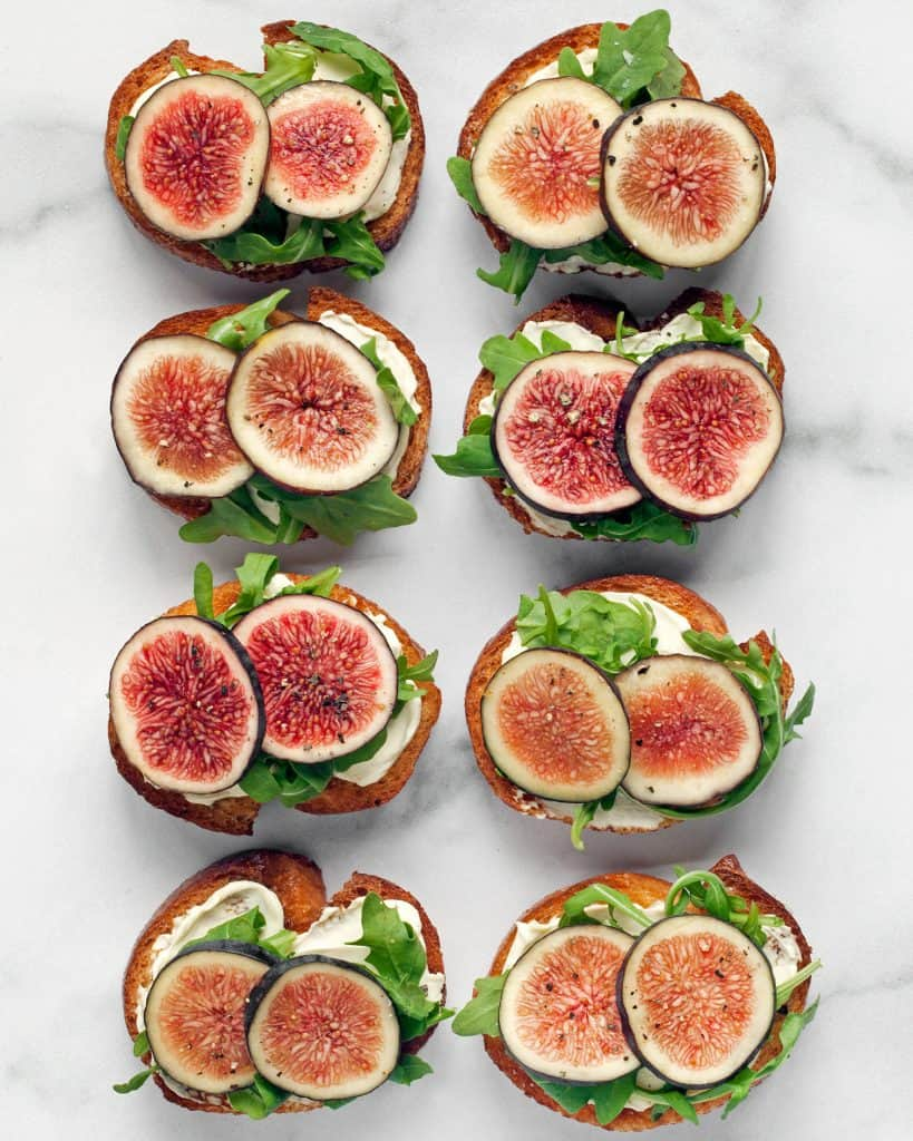 Honey-Whipped Goat Cheese and Figs