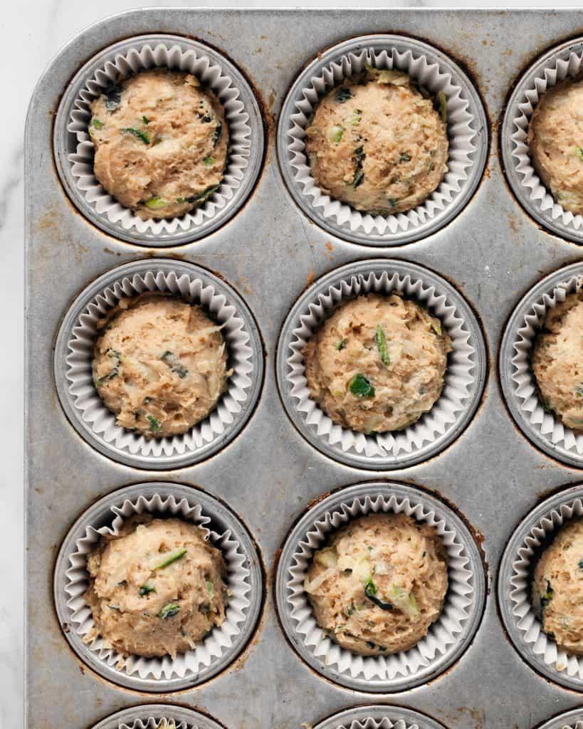 Zucchini Chai Muffins