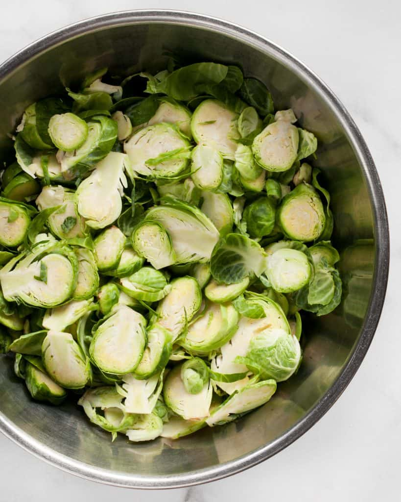Crispy Roasted Brussels Sprouts