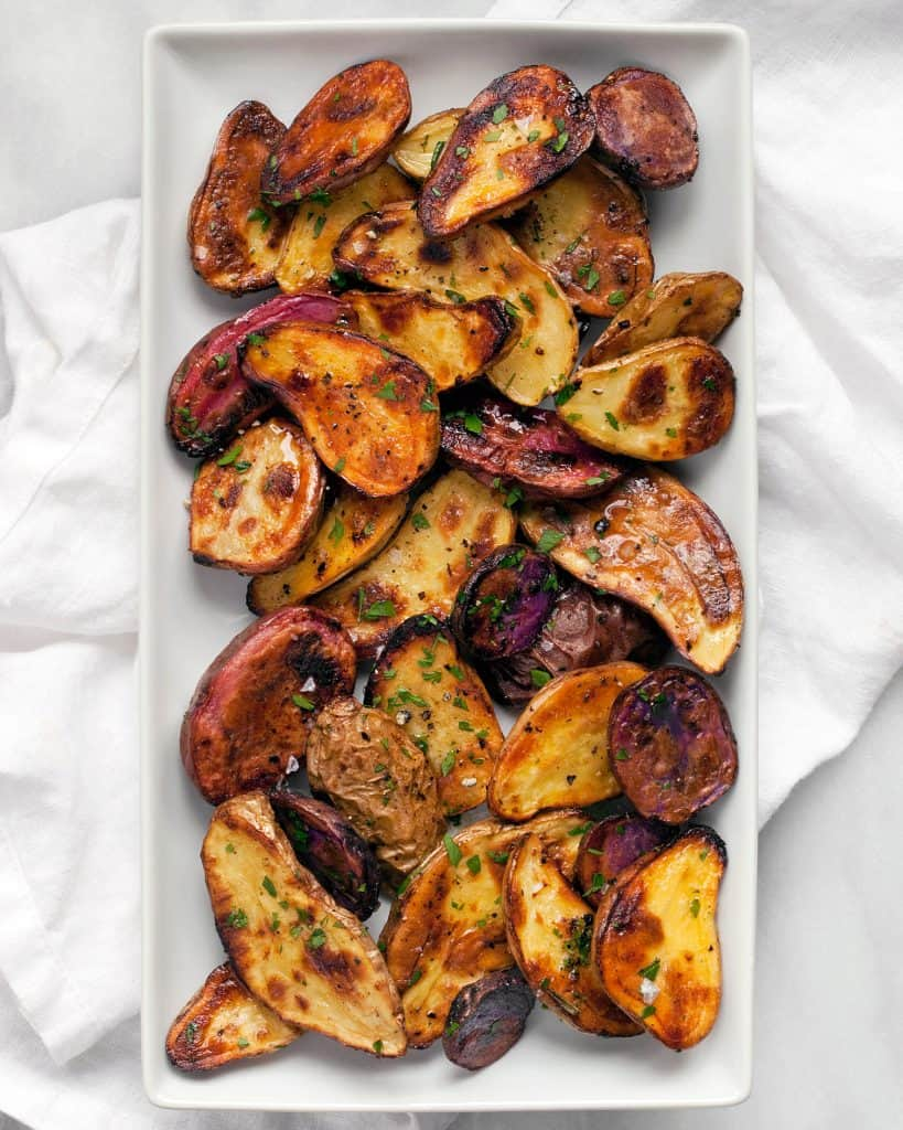 Lemon Roasted Fingerling Potatoes