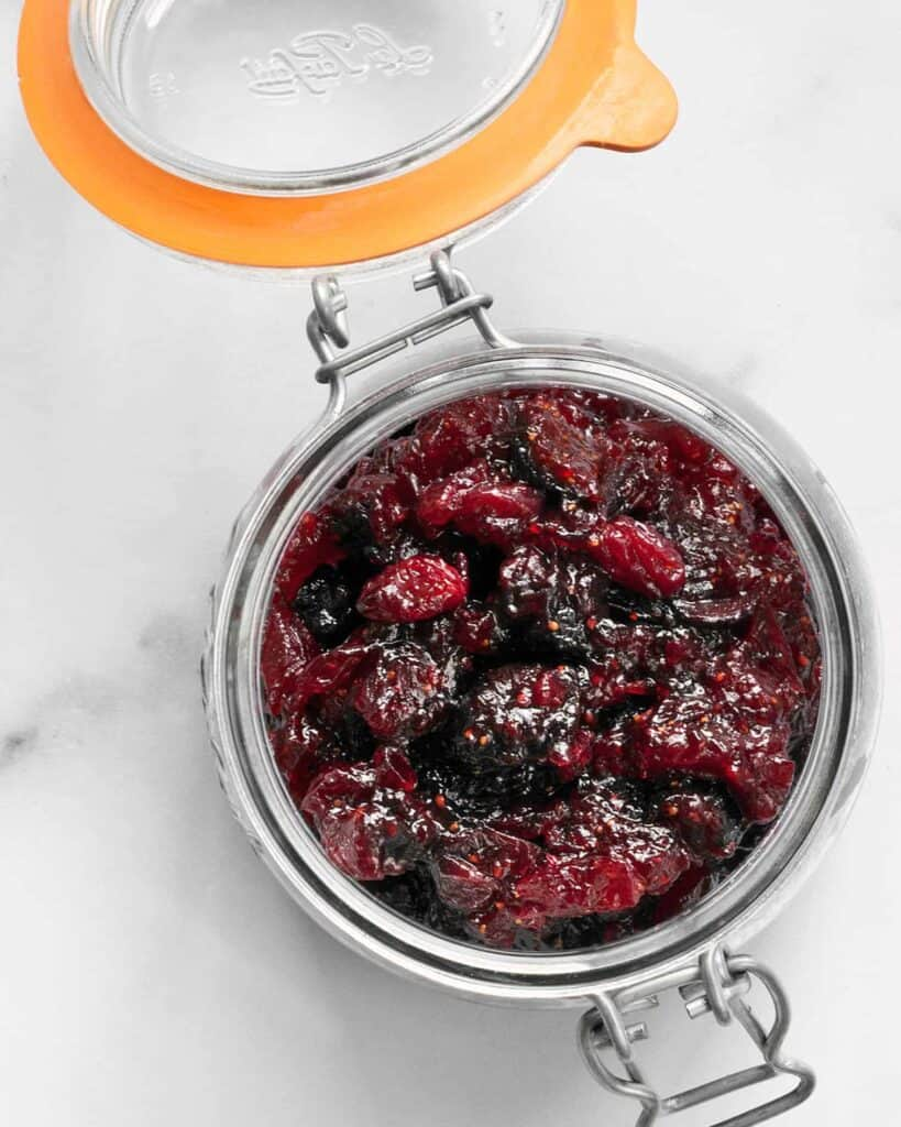 Cranberry Fig Jam